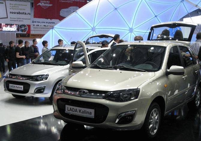 Презентация «Калины 2» в Красноярске. Представлены версии хетчбэк, универсал. Автомобили Лада Калина 2. Новости, описание, видео.