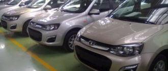 АвтоВАЗ рассчитывает на рост продаж за счет «второй Калины» и новой «Приоры»
