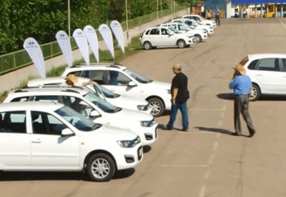 Top Gear провел тест «второй Калины»
