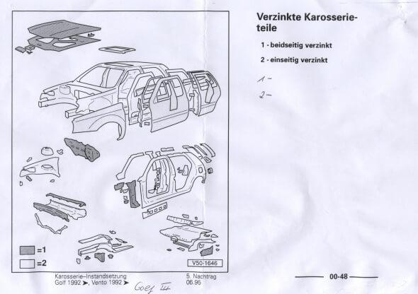 1-двусторонняя, 2-односторонняя оцинковка в а/м Фольксваген. Автомобили Лада Калина 2. Новости, описание, видео.
