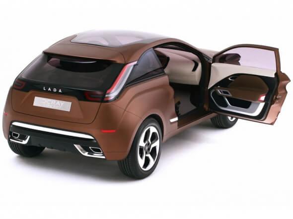 Концепт X-Ray (выпуск - с 2015 года). Автомобили Лада Калина 2. Новости, описание, видео.