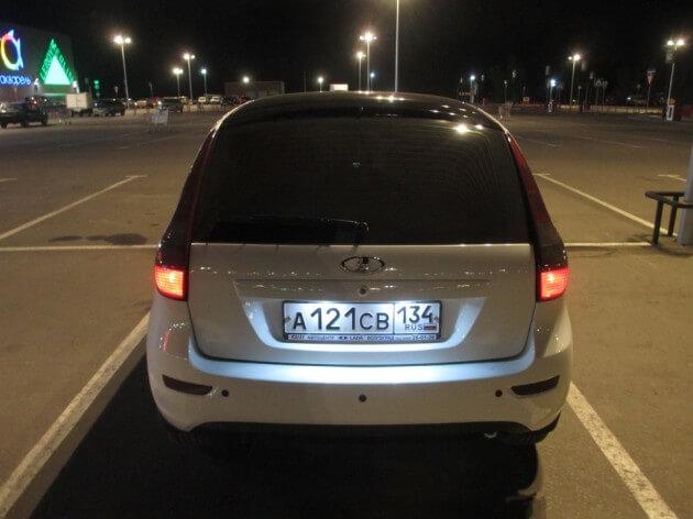 Оклейка кузова глянцевой пленкой. Автомобили Лада Калина 2. Новости, описание, видео.