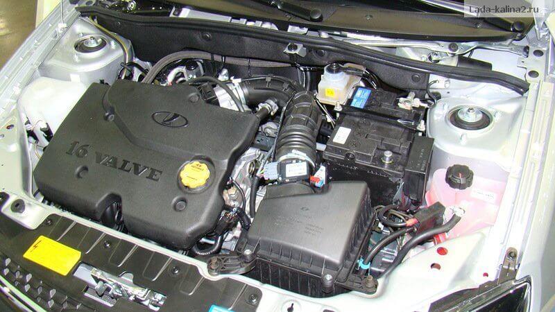 Двигатель Калина-2. Автомобили Лада Калина 2. Новости, описание, видео.
