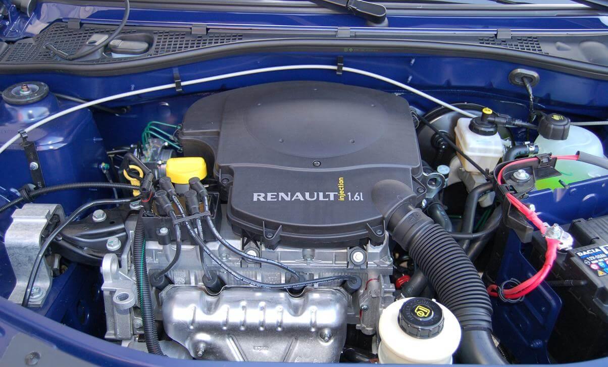 Подробности о двигателе Рено K4M