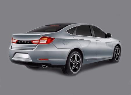 3d-модель кузова LADA 2180. Автомобили Лада Калина 2. Новости, описание, видео.