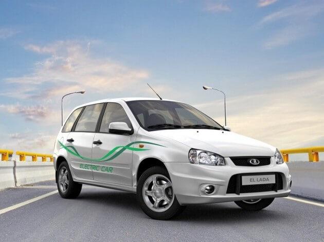 Первый серийный электромобиль EL LADA. Автомобили Лада Калина 2. Новости, описание, видео.