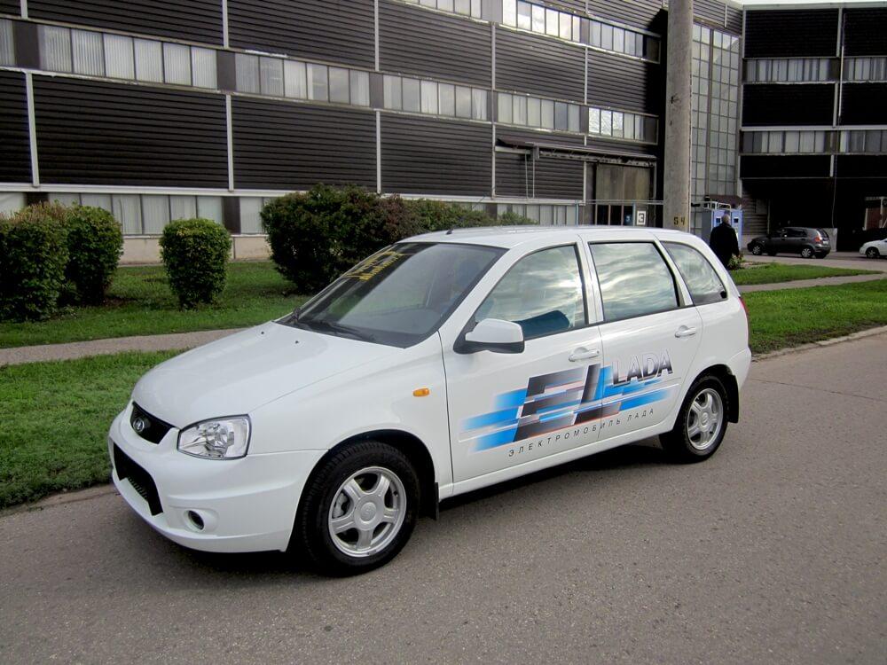 Комплектация электромобиля El Lada