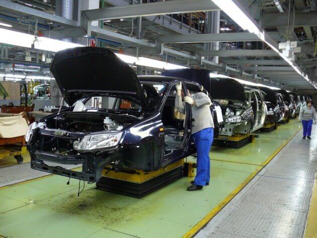 Сборка автомобилей Granta в Тольятти. Автомобили Лада Калина 2. Новости, описание, видео.