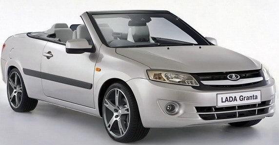 LADA Granta Cabrio – шутка на 1-е апреля или будущее АвтоВАЗа?