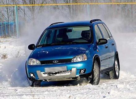 Калина 4x4, 2007 год. Автомобили Лада Калина 2. Новости, описание, видео.