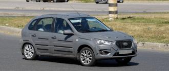 Вторая модель Datsun, перелицованная «Калина-2», готовится к премьере
