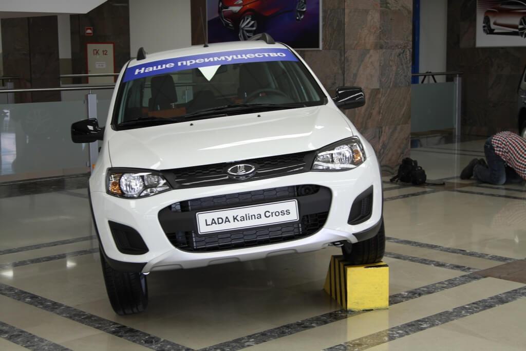 LADA Kalina Cross, презентация. Автомобили Лада Калина 2. Новости, описание, видео.