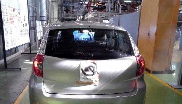 Datsun mi-DO, задние фонари. Автомобили Лада Калина 2. Новости, описание, видео.