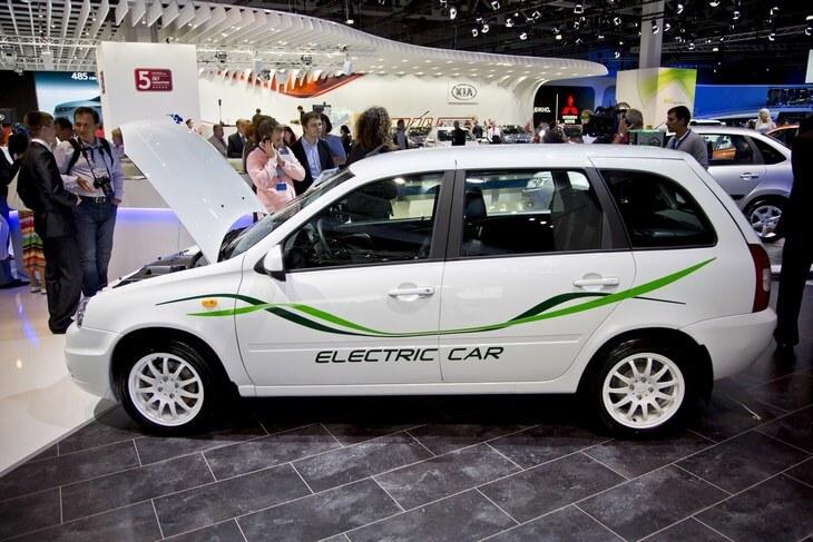 Новый электромобиль АвтоВАЗа будет построен на базе «Калины-2»