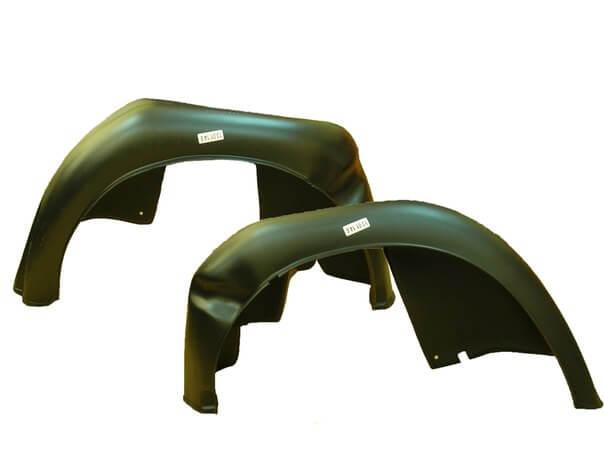 Монтаж подкрылков в задние арки «второй Калины» без использования саморезов