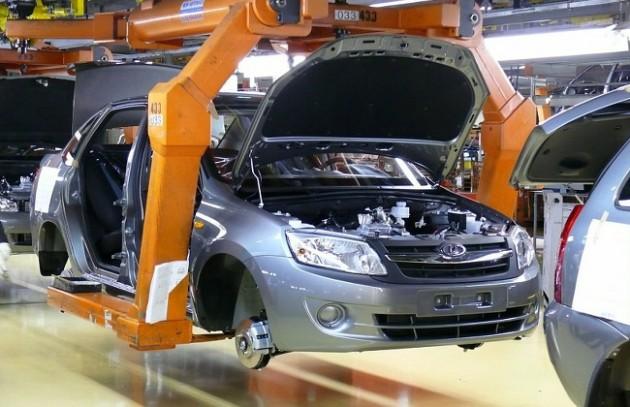 Автомобили Калина-2 и Гранта собирают в отдельном цехе. Автомобили Лада Калина 2. Новости, описание, видео.