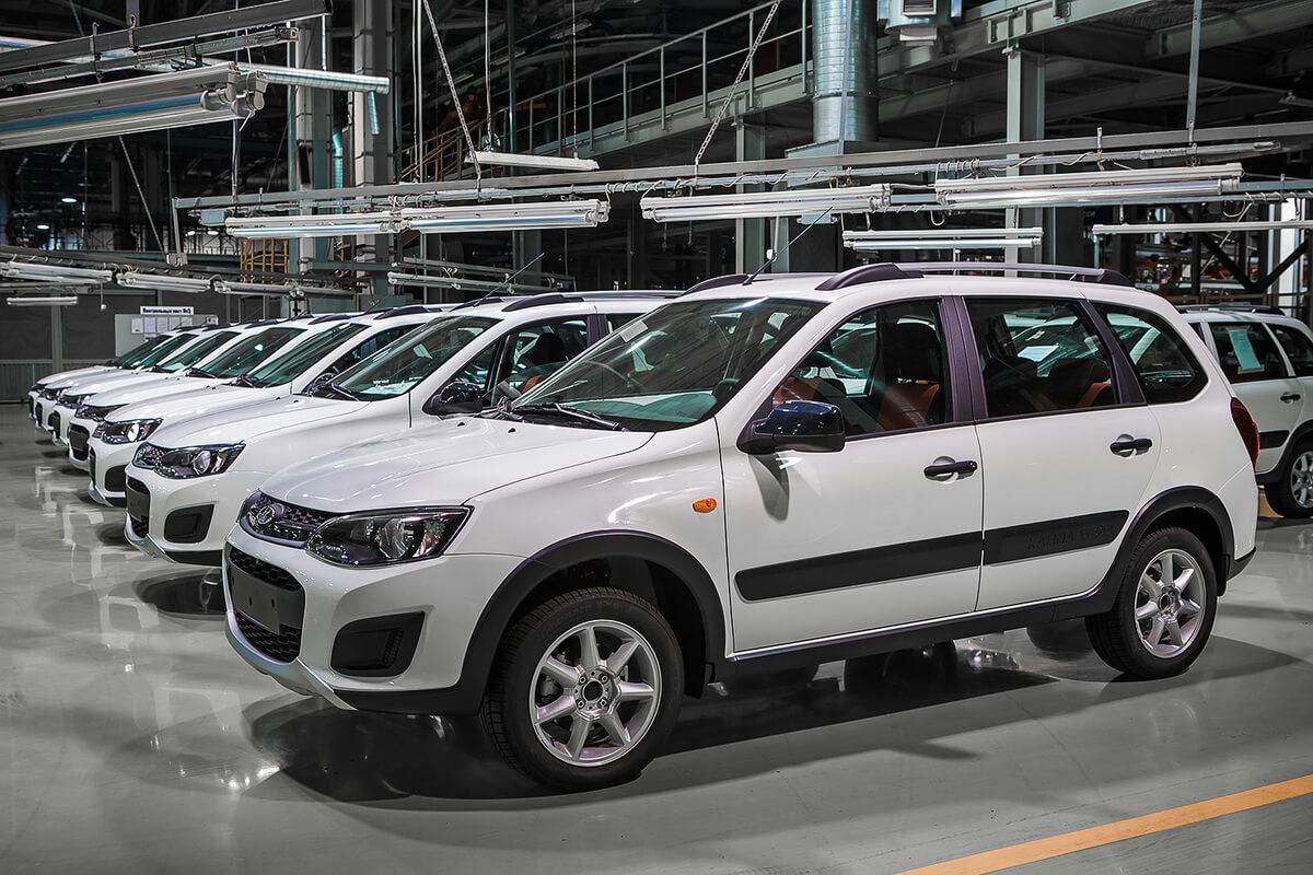 Вместо выпуска, ВАЗ отправляет «Калину Кросс» в автопробег
