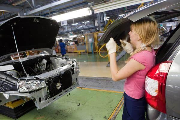 Конвейер по выпуску Granta/Kalina II. Автомобили Лада Калина 2. Новости, описание, видео.
