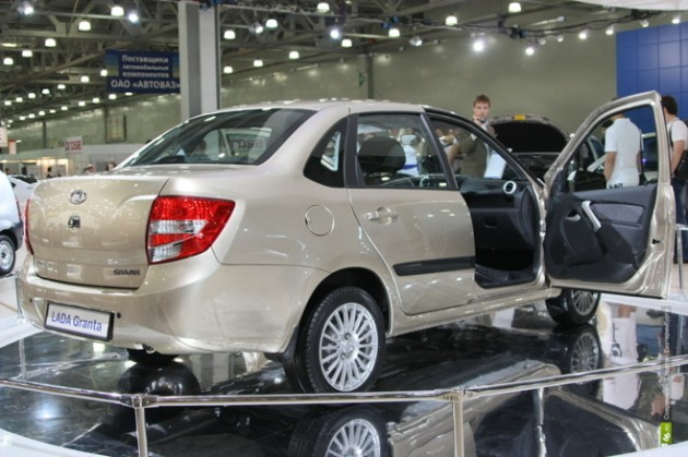 Седан Granta, самый доступный автомобиль ВАЗ