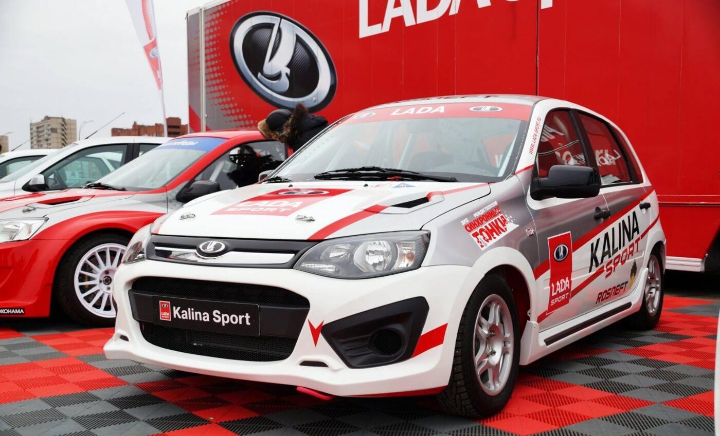 Рождественские гонки от Lada