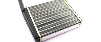 Радиатор отопления на Ладу Калину