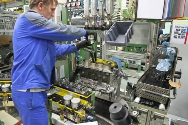 Цех 022D0, оборудование для обработки ГБЦ H4