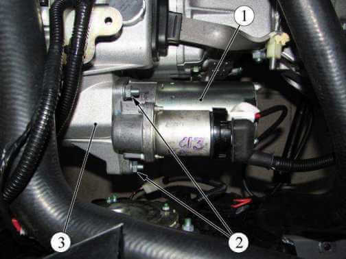 Стартёр двигателя а/м Калина-2/Гранта