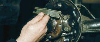 Меняем задние и передние тормозные колодки на Калине-2 самостоятельно