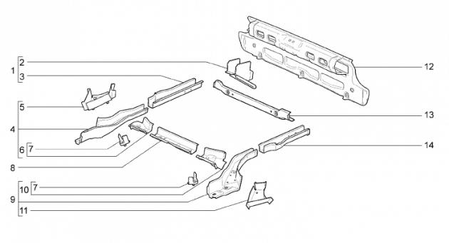 Установка фаркопа на калину кросс