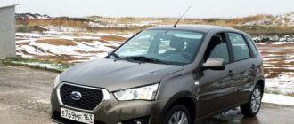 Datsun mi-DO, ближайший конкурент «Калины-2»