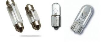 Лампы, применяемые в автомобиле «Калина-2»