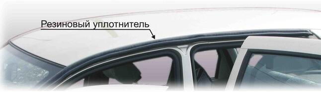 Монтаж рейлингов ВАЗ-2192, шаг 1