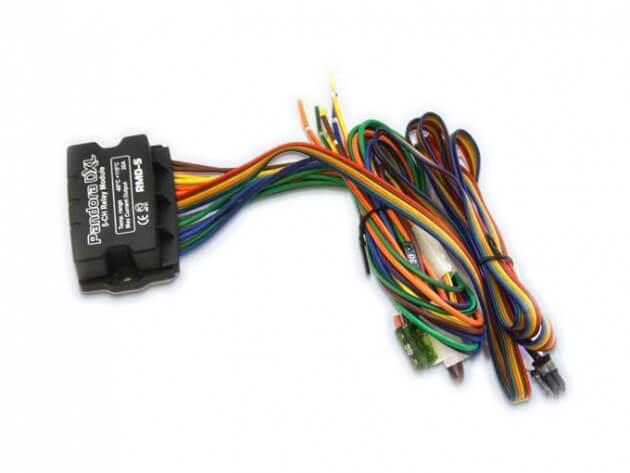 Устройство автозапуска с проводами