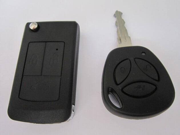 Ключи с брелоками, авто семейства Гранта/Калина-2