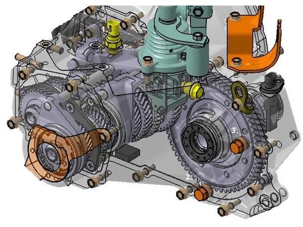 Конструкция КПП ВАЗ-2181
